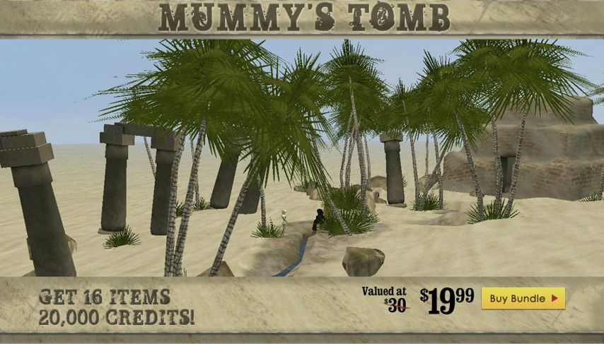 Mummy's Tomb GA Bundle