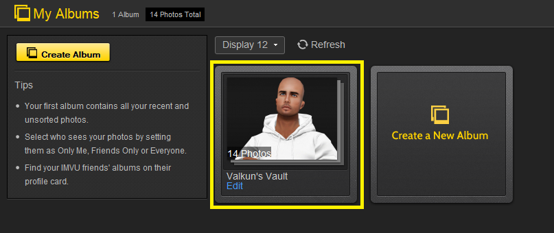 I was wondering how you post your own pictures on imvu