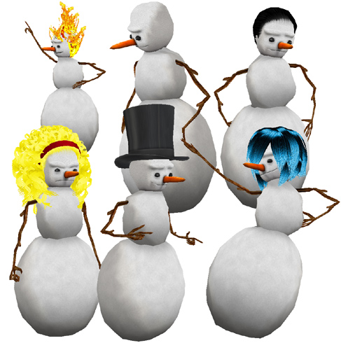IMVU - View topic - The Ulimate Snowman Body