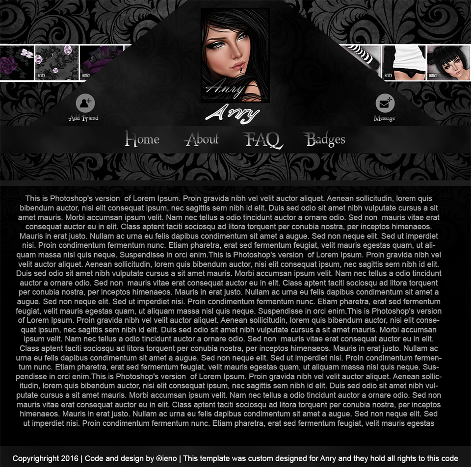 Awesome Imvu Body Template Vignette - Professional Resume Examples ...