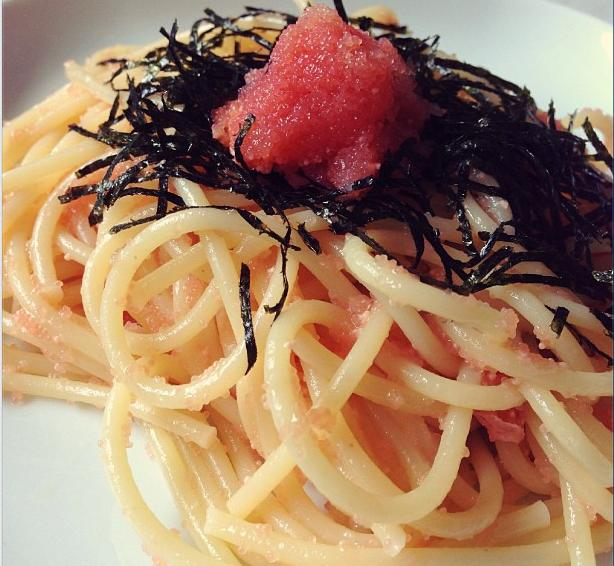 Japanese Mentaiko Pasta (Cod Roe Pasta) - Democratic ...