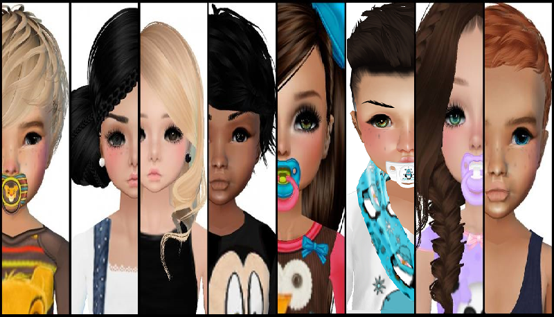 how to make a kid avatar on imvu