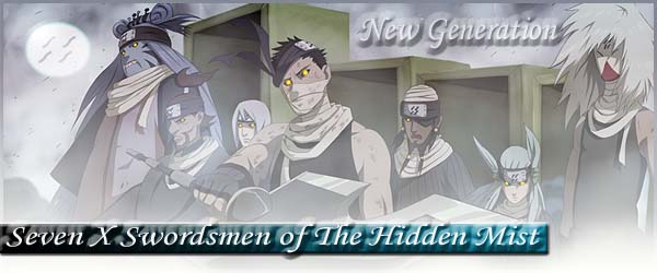group image for Seven X Swordsmen of the Hidden Mist