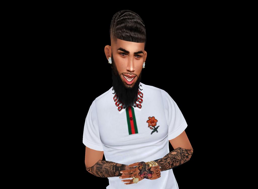 IMVU: My avatar page: BlackPoloGang