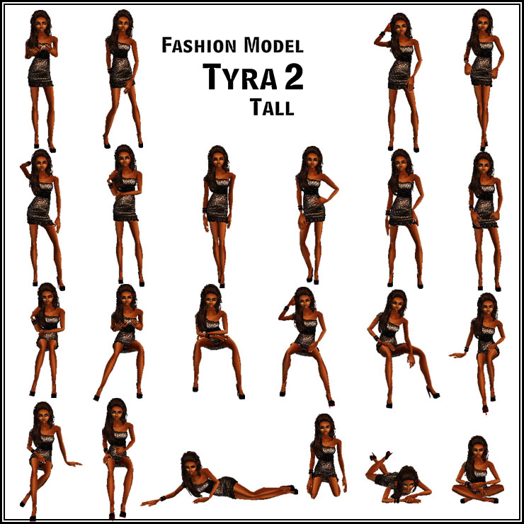 Above Is The Image Of Poses For This Product Including 10 Stand 8 Seat 5 Floor A Runway Walk Animation Numerous Triggers To