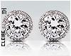 !C♔ Diamond Studs!