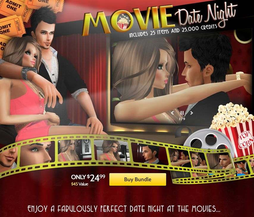 Movie date Night GA Bundle